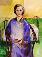 Concetta Bertoli nel ritratto dell pittore friulano Giovanni Di Lena