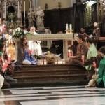 12/01/2014 - Gorizia, incontro di preghiera davanti al presepe (foto)