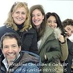 08/12/2015 - Gorizia, Professione temporanea di Christian