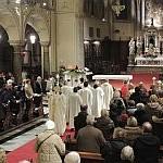 10/01/2016 - Gorizia, incontro di preghiera davanti al Presepe - Santa Messa (foto)